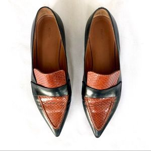 Celine Pointed Toe Flats